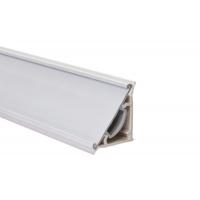 Бортик треугольный ПВХ отделка, под кромку Н.34 к столешнице 8STEPEN L=4000