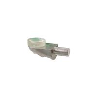 Полкодержатель для стекла с присоской FIRMAX, цинк, никель