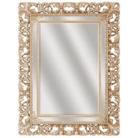 Зеркало ППУ прямоугольное R0021BA 880x1080 белый с золотой патиной (эмаль)