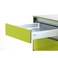 Комплект для ящика Firmax 500мм, Н 83мм с доводчиком, белый
