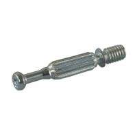 Дюбель для эксцентриковой стяжки, D7x34 мм, крест, под муфту M6, сталь