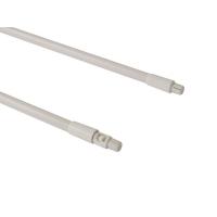 Рейлинги Firmax длина 400 мм, круглые верхние для ящика Newline, белые