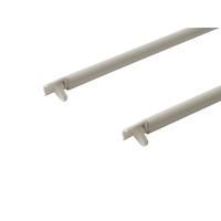 Рейлинги Firmax длина 500 мм, круглые средние для ящика Newline, белые