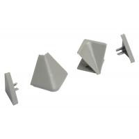 Комплект угловых элементов для треугольных бортиков АА.101 и АА.102, цвет серый