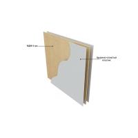 Мрамор бельканто глянец Стеновая панель 8STEPEN Россия, 4200х600х4мм