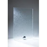 Стекло Уади бесцветное матированное узорчатое 2550х1605х4мм