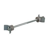 Стяжка для столешниц FIRMAX, L=150 мм, М6, сталь, цинковое покрытие, пластик