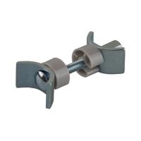 Стяжка для столешниц FIRMAX, L=65 мм, М6, сталь, цинковое покрытие, пластик