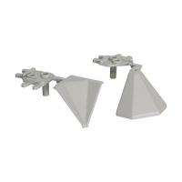 """Комплект углов 90"""" для треугольного бортика M3530/M3540/M3545, цвет 07 серый"""