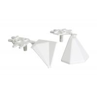 """Комплект углов 90"""" для треугольного бортика M3530/M3540/M3545, цвет 02 белый"""