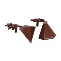 """Комплект углов 90"""" для треугольного бортика M3530/M3540/M3545, цвет 04 коричневый"""