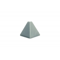 "Угол 90"" внешний для треугольного бортика M3460, цвет под алюминий"