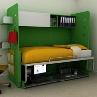 Механизм трансформации кровать-рабочий стол University (M01)