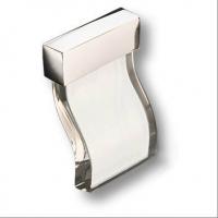 24259Z06000.15 Ручка-кнопка, отделка золото глянец + горный хрусталь
