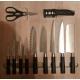 81060018500 Ёмкость в базу 600 OTTAVAGRADO с набором ножей 11 предметов, бук, для ящика JET Jetbox Ultra глубиной 500мм