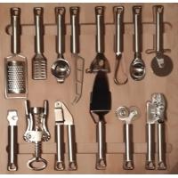 80660004450 Ёмкость в базу 600 OTTAVAGRADO с кухонными инструментами 14 предметов бук для ящика BLUM Intivo глубиной 450мм