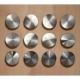 81160002500 Ёмкость в базу 600 OTTAVAGRADO с 12 банками 1.0л, бук/стекло, для ящика BLUM Legrabox глубиной 500мм