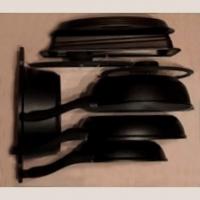 80360005500 Ёмкость в базу 600 OTTAVAGRADO, с набором посуды и формы для выпечки 8 предметов, бук, для ящика HAFELE Moovit глубиной 500мм