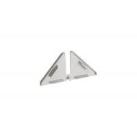 Комплект заглушек для треугольного бортика M3530, цвет 07 серый