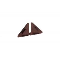 Комплект заглушек для треугольного бортика M3540/M3545, цвет 04 коричневый