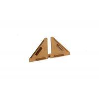 Комплект заглушек для треугольного бортика M3540/M3545, цвет 03 светло-коричневый