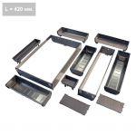 Набор для столовых приборов ORGA-LINE - H=600 мм / L=450