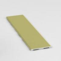 Орех, декоративная планка Стандарт. Алюминиевая система дверей-купе ABSOLUT DOORS SYSTEM