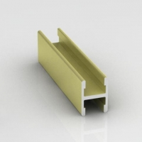 Лимба светлая структурная, гнущийся соединительный профиль без винта Модерн. Алюминиевая система дверей-купе ABSOLUT DOORS SYSTEM