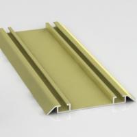 Золото Руджин, направляющая нижняя двойная Фэнтези. Алюминиевая система дверей-купе ABSOLUT DOORS SYSTEM