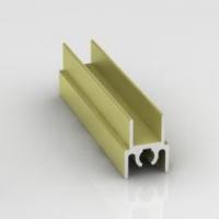 Вишня структурная, верхний горизонтальный профиль Стандарт. Алюминиевая система дверей-купе ABSOLUT DOORS SYSTEM
