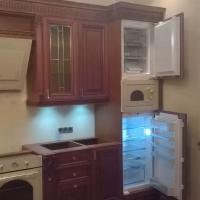 Установка встроенного холодильника, морозильника