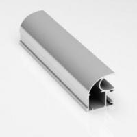Махагон структурный, профиль вертикальный Стандарт CLASSIC асимметричный. Алюминиевая система дверей-купе ABSOLUT DOORS SYSTEM