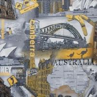 Мебельная ткань скотчгард AUSTRALIA grey(Австралия грей)