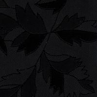 BS 2183G-44 Цветы чёрные матовая, пленка ПВХ для фасадов МДФ