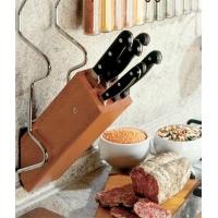 Держатель для ножей на рейлинг 115х125х400 мм, хром матовый