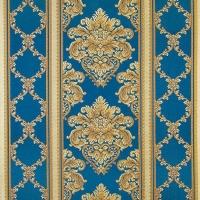 Мебельная ткань жаккард CHATEAU Ligne Cobalt (Шато Лайн Кобалт)