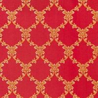 Мебельная ткань жаккард CHATEAU Losange Rubis (Шато Лёсандж Руби)