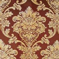 Мебельная ткань жаккард CHATEAU Monogramme Chocolat (Шато Монограмм Чёколат)