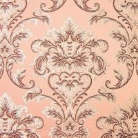 Мебельная ткань жаккард CHATEAU Monogramme Rose (Шато Монограмм Роуз)