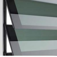 """К-т стекол """"Климбер"""", 900х780 мм, (6 шт.), прозрачный черный"""