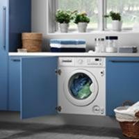 Установка стиральной машины с навеской фасада (без подключения)