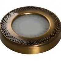13060018 Светодиодный светильник SUN Art накладной, цвет - античное серебро, свет теплый