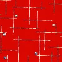 DG401-6T Микс красный фантазийный металлик, пленка ПВХ для фасадов МДФ