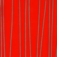 DL0905-6TA Страйп красный глянец, плёнка ПВХ для фасадов МДФ