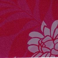 DUR403-6T Азалия фиолетовая фантазийная металлик, пленка ПВХ для фасадов МДФ