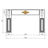 Портал Гальяно 910х1520 массив Италия