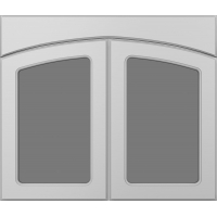 Фрезеровка 266 Фасад арочный коллекция Классик фасады Кедр