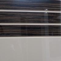 Фасады МДФ 16мм комбинированные эмаль и шпон 3 полосы, покраска по RAL и WOODcolor шпон Woodstok