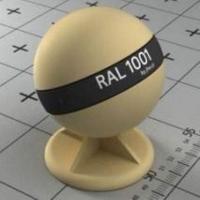 RAL 1001 краска для фасадов МДФ бежевая