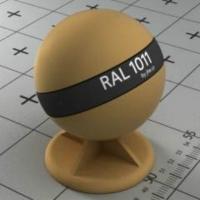 RAL 1011 краска для фасадов МДФ коричнево-бежевая